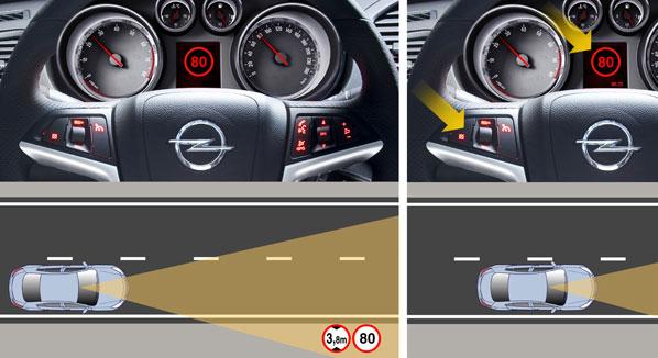 Tecnología Opel Eye en el Insignia