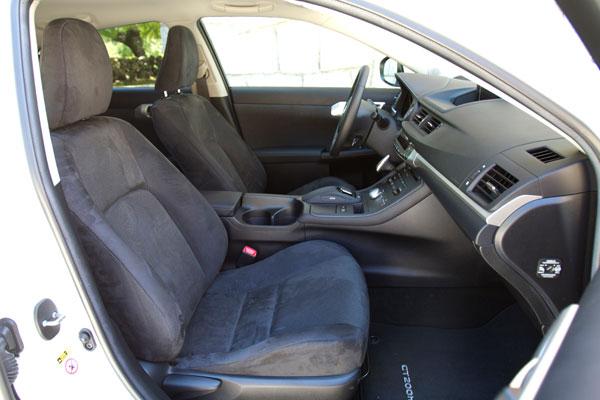 Lexus CT 200h la prueba