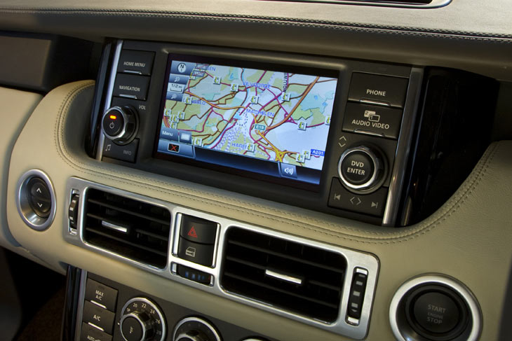 Range Rover 2010.