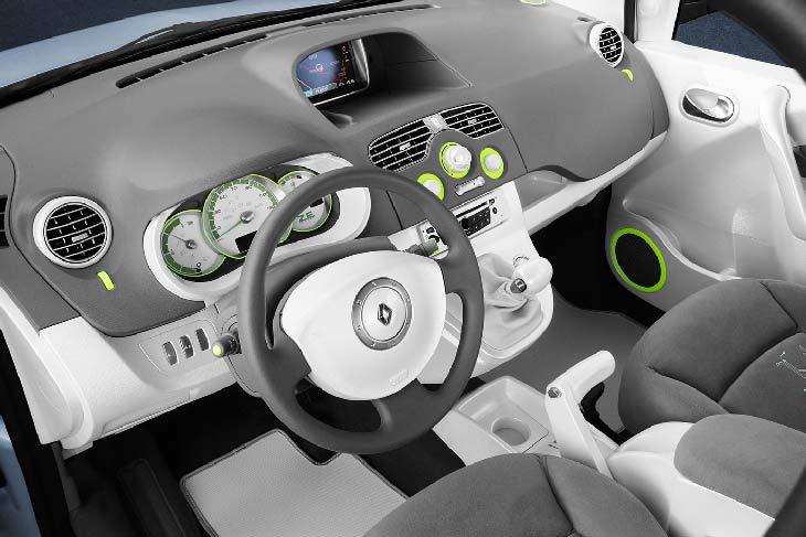 Renault Bebop: detalles