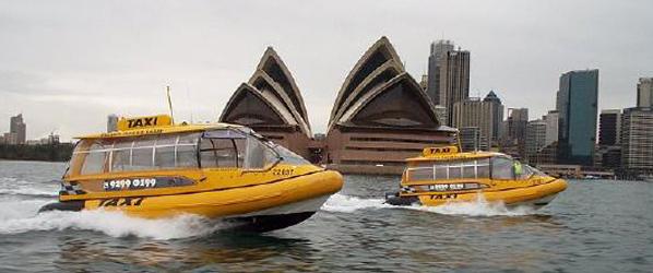 Taxis acuáticos contra los atascos