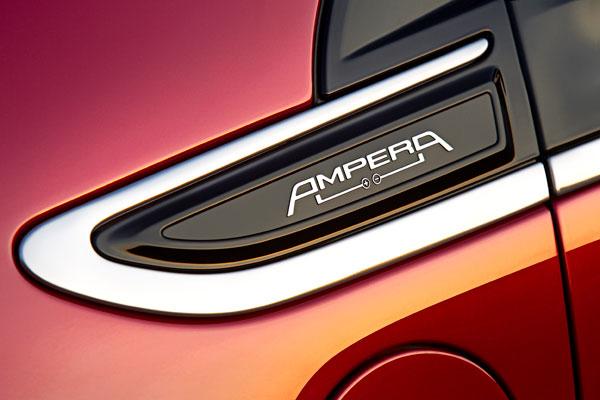 Opel Ampera, el contacto