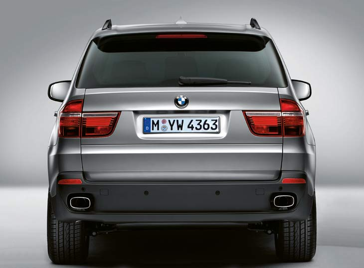 Exteriormente, el BMW X5 Security no se distingue de un X5 convencional.