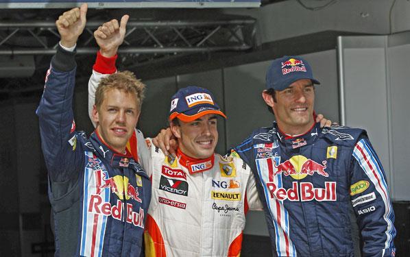 F1: Cambios en la calificación
