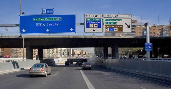 Agosto, un mes sin coches en Madrid