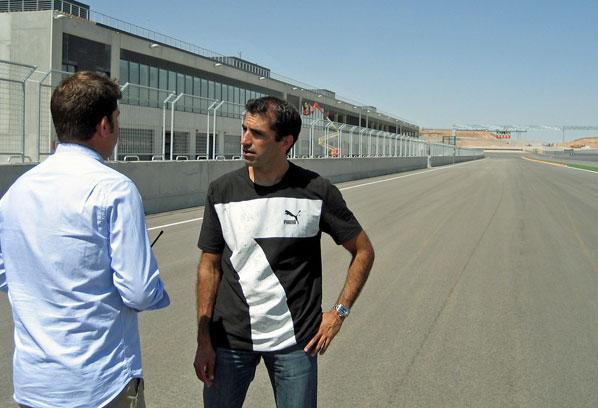 Marc Gené valora MotorLand Aragón