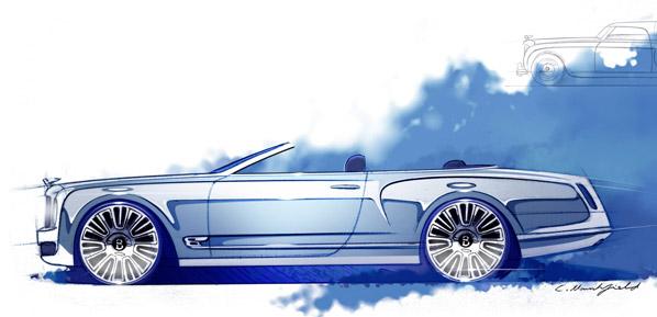 Bentley Mulsanne descapotable