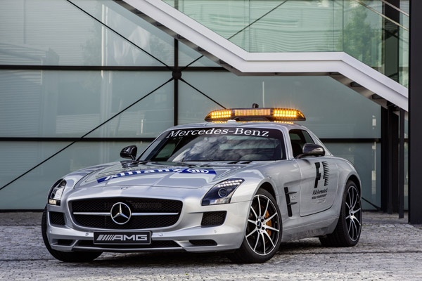 Mercedes SLS AMG GT, nuevo Safety Car en la Fórmula 1
