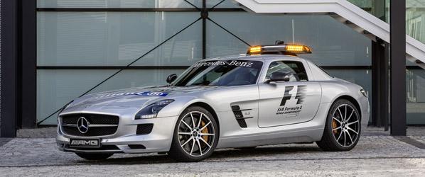 Mercedes SLS AMG GT, nuevo Safety Car en la Fórmula 1