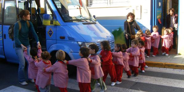 La DGT vigilará el transporte escolar