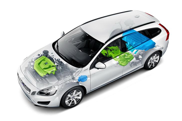 Volvo V60 híbrido enchufable.