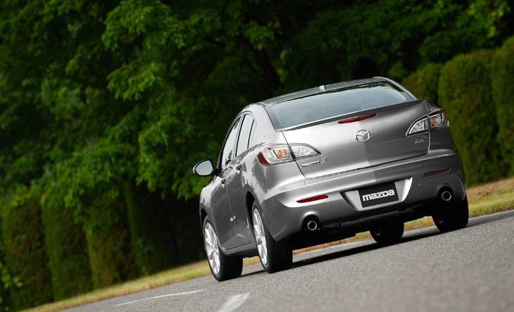 Nuevo Mazda 3 sportsedán