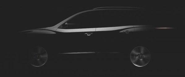 Primera imagen del Nissan Pathfinder Concept