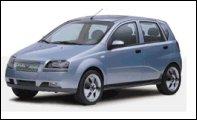El Kalos, primer vehículo de GM Daewoo Auto