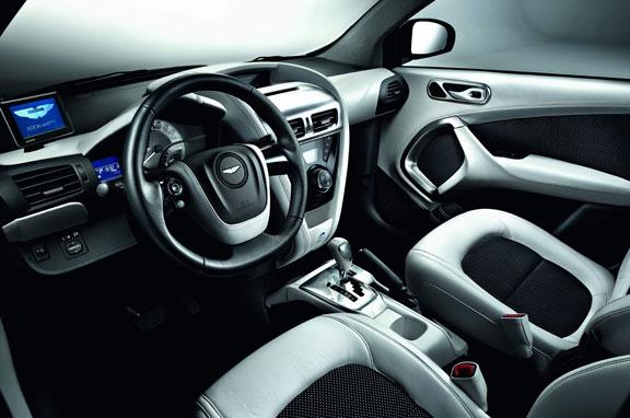 Aston Martin Cygnet, lujo urbano