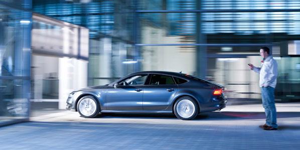 Audi y su aparcamiento autónomo