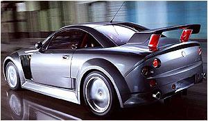 MG Rover en el Salón de Barcelona.