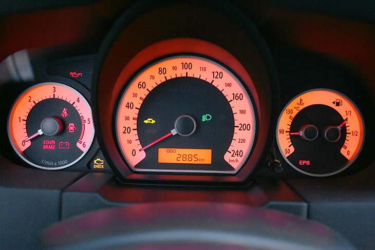 Kia Pro-cee'd 2.0 CRDI: interiores