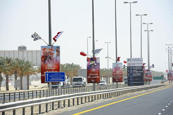 A pesar de las revueltas en el país, la Fórmula 1 llega a Bahrein