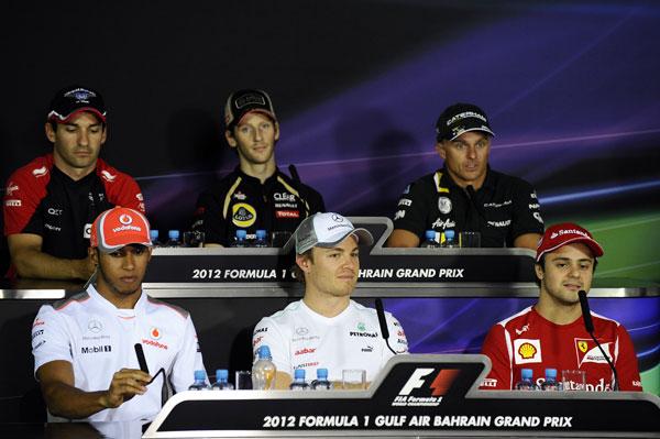Rueda de prensa oficial de la FIA del jueves en Bahrein