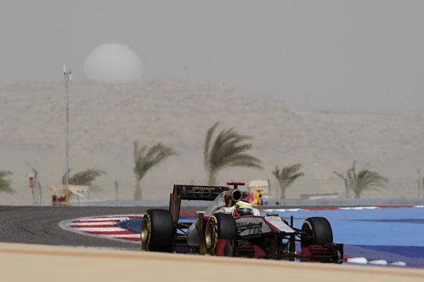 Pedro de la Rosa saldrá 22º en Bahrein, por delante en clasificación por primera vez de un Marussia