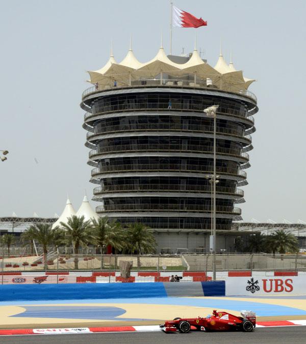 Fernando Alonso se quedó lejos de la cabeza en los primeros entrenamientos libres