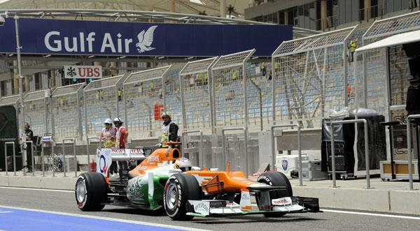 Force India no participó en los segundos entrenamientos libres por miedo a las protestas y revueltas que se dan en el país