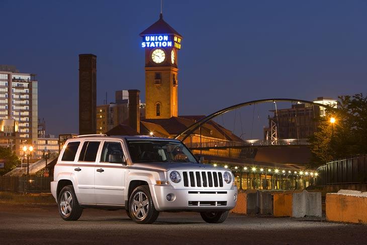 El Jeep Patriot llega a Europa