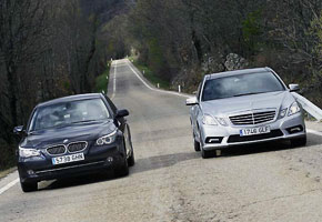BMW 525d Vs Mercedes E 250 CDI