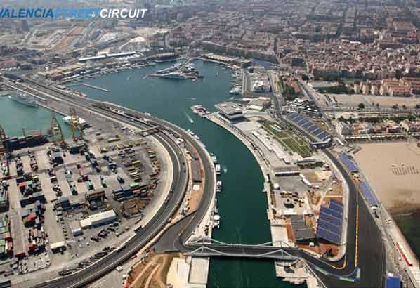 Presentación del GP de Europa 2009 en Valencia