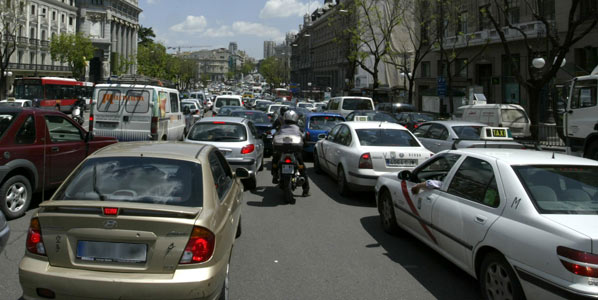 Reorganización del tráfico, menos contaminación