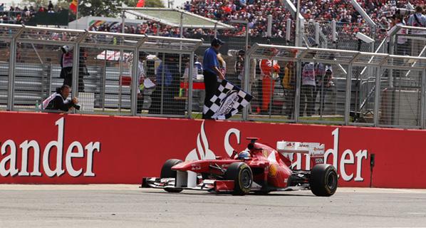 F1: Alonso busca seguir remontando en Alemania