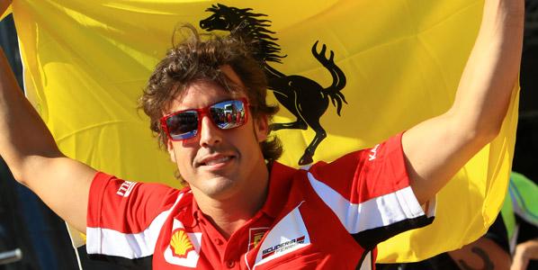 Fernando Alonso, el mejor también para los alemanes