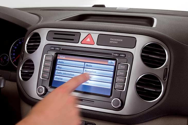 VW Tiguan: interiores