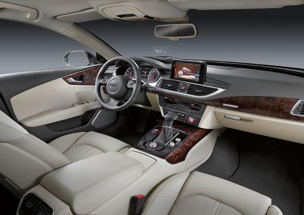Audi A7 Sportback, el contacto