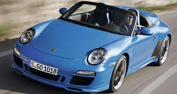 Llega el Porsche 911 Speedster