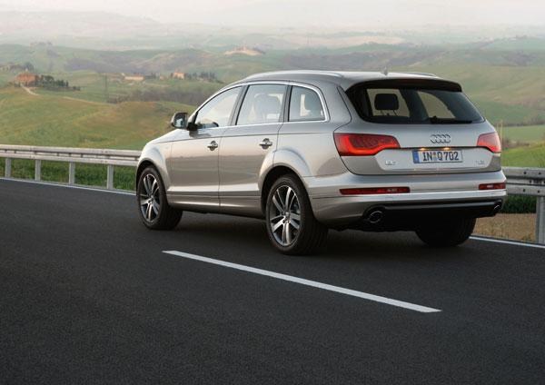 Audi Q7 nuevos motores TDI