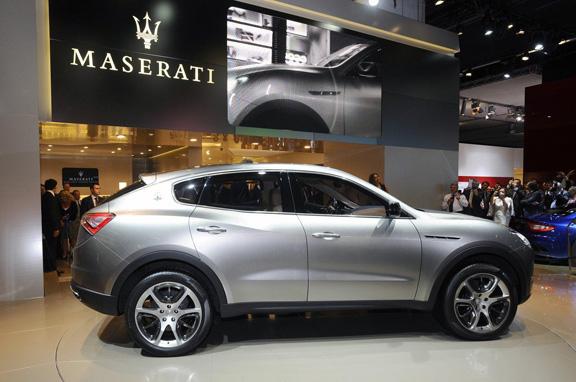 Maserati Kubang, el nuevo Cinqueporte