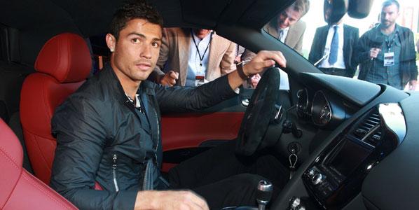 Los coches de los jugadores del Real Madrid