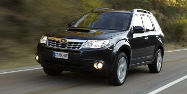 El Subaru Forester Diesel, más eficiente