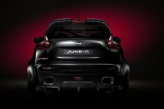 El Nissan Juke R, al detalle