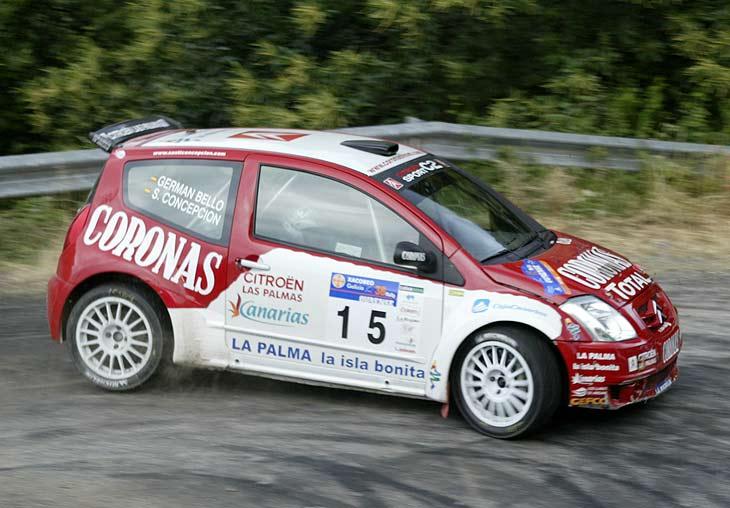 A pesar de los problemas en su vehículo, Concepción finalizó en la quinta plaza en el Rally de Orense.