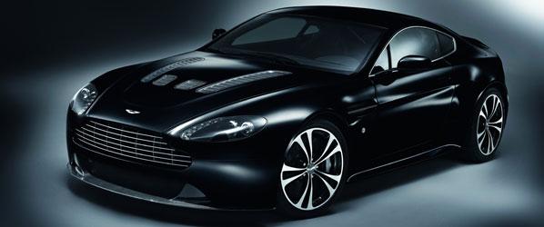Aston Martin DBS y V12 Vantage Black Carbon Special Editions