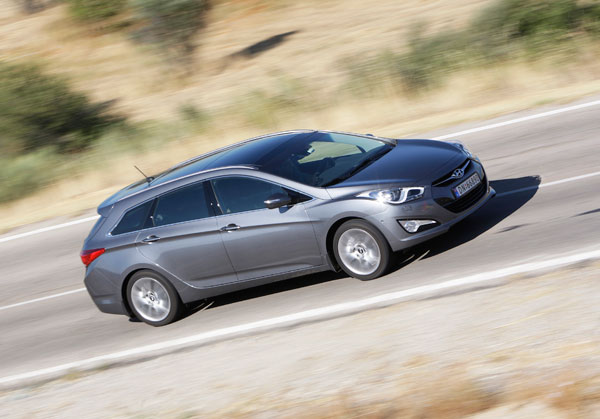Hyundai i40 la prueba
