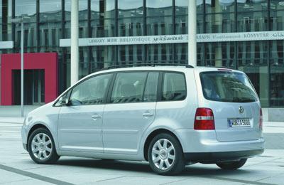 Volkswagen Touran, disponible en primavera