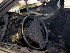 Los coches afectados por el atentado de Barajas, desprotegidos
