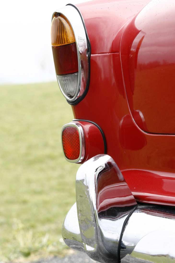 Volvo 122 S de 1964: exteriores