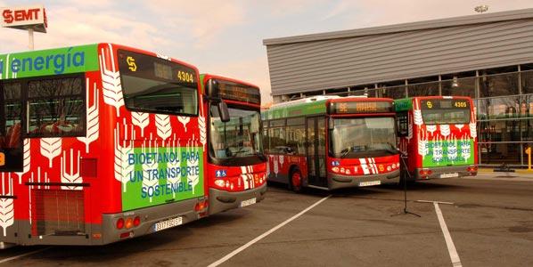 Arranca la huelga de autobuses urbanos en Madrid