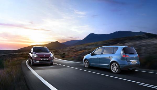 Renault Scénic y Grand Scénic 2012 el contacto