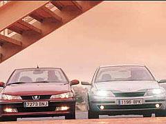 Peugeot 406 2.0i SV / Renault Laguna 2.0 IDE